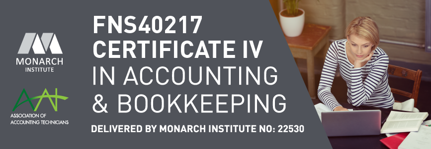 Certificate IV Accounting and Bookkeeping - FNS40217